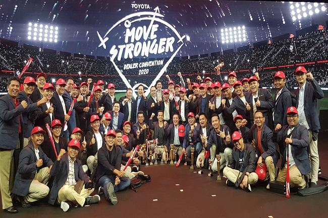Konsisten Layani Konsumen, Nasmoco Borong Piala di Ajang Toyota Dealer People Award 2020